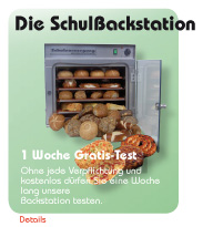 Schulverpflegungs-Backstation